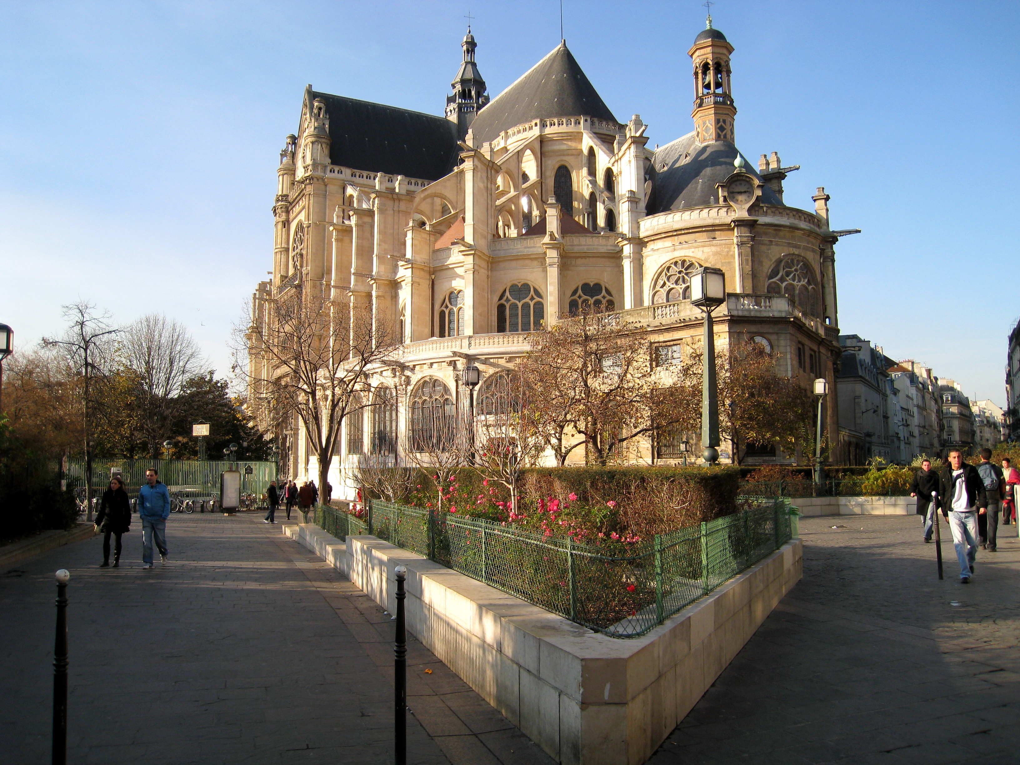 File:Brie-Comte-Robert (77), église Saint-Étienne, élévation ...