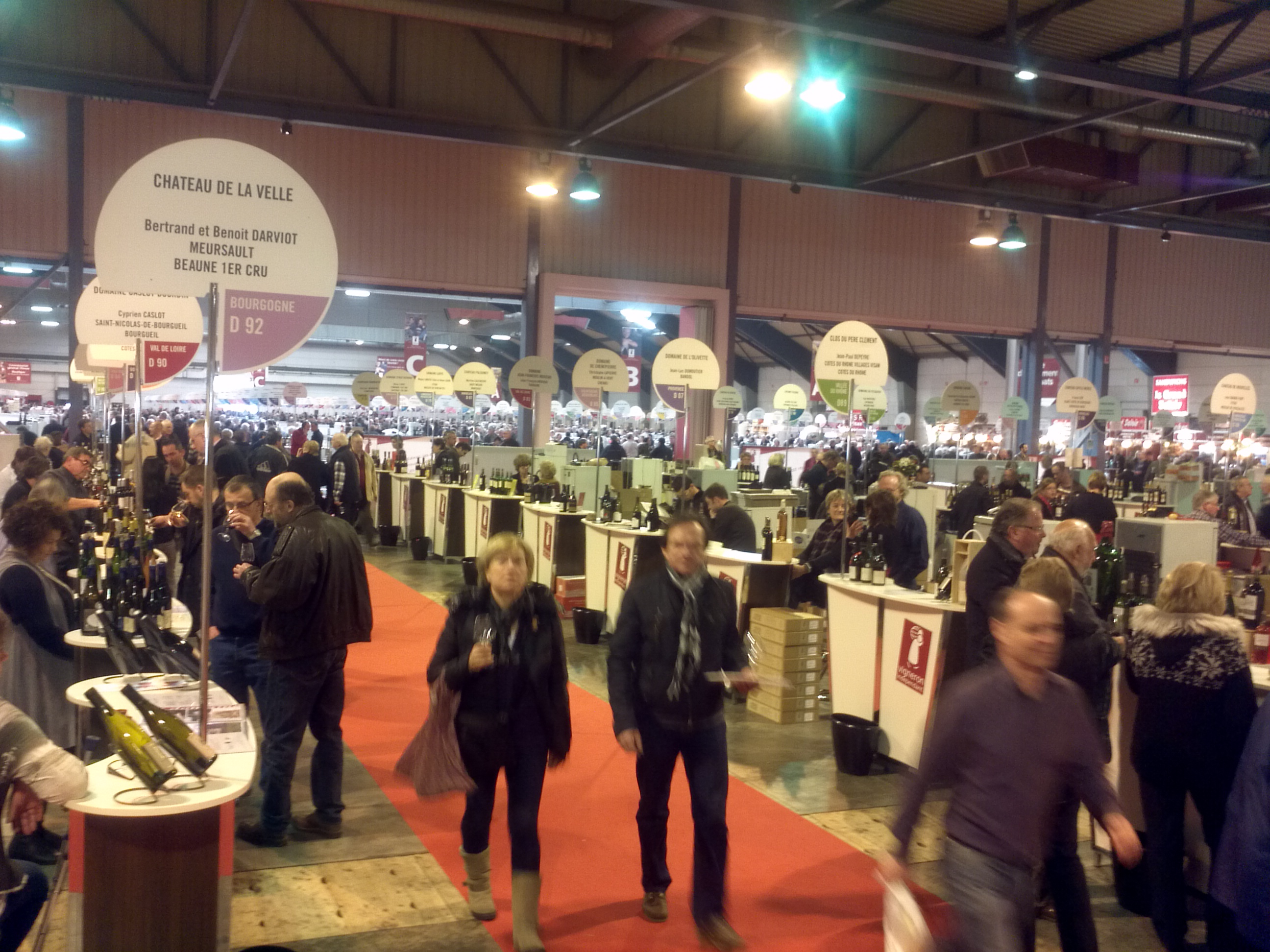 File salon des vins des vignerons ind pendants strasbourg - Invitation salon des vignerons independants ...