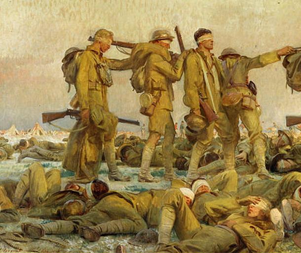 Sargent, John Singer - Gassed