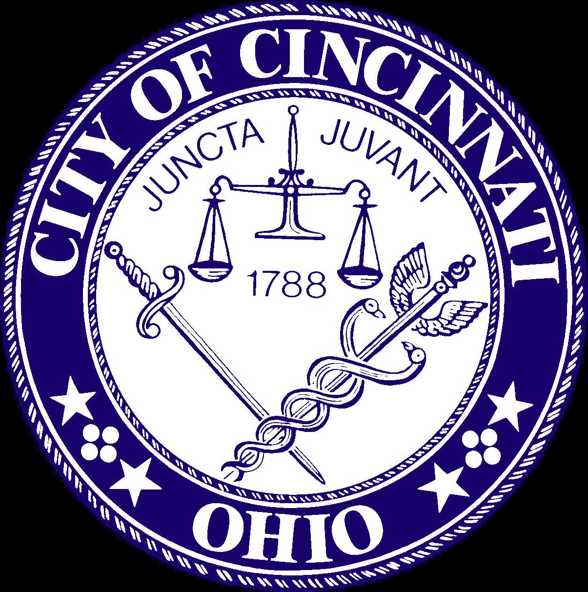 Depiction of Cincinnati