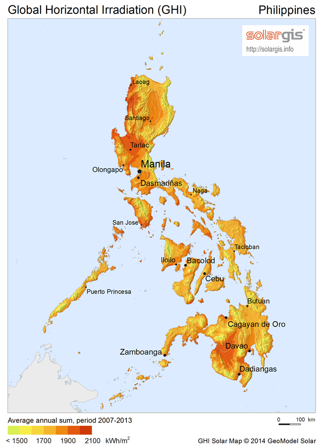 FileSolarGISSolarmapPhilippinesenpng Wikimedia Commons - Map of philippines
