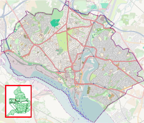 Southampton Test (UK Parliament constituency) is located in Southampton