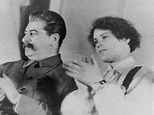 Сталин и Демченко, 1935 г.