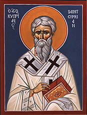 Saint Cyprian http://www.satucket.com/lectiona...