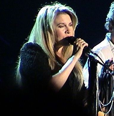 During Fleetwood Mac's 2003 tour. - Stevie Nicks