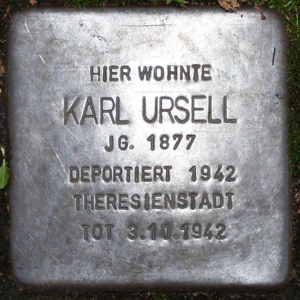 Stolperstein Karl Ursell Wuppertal 1024.jpg