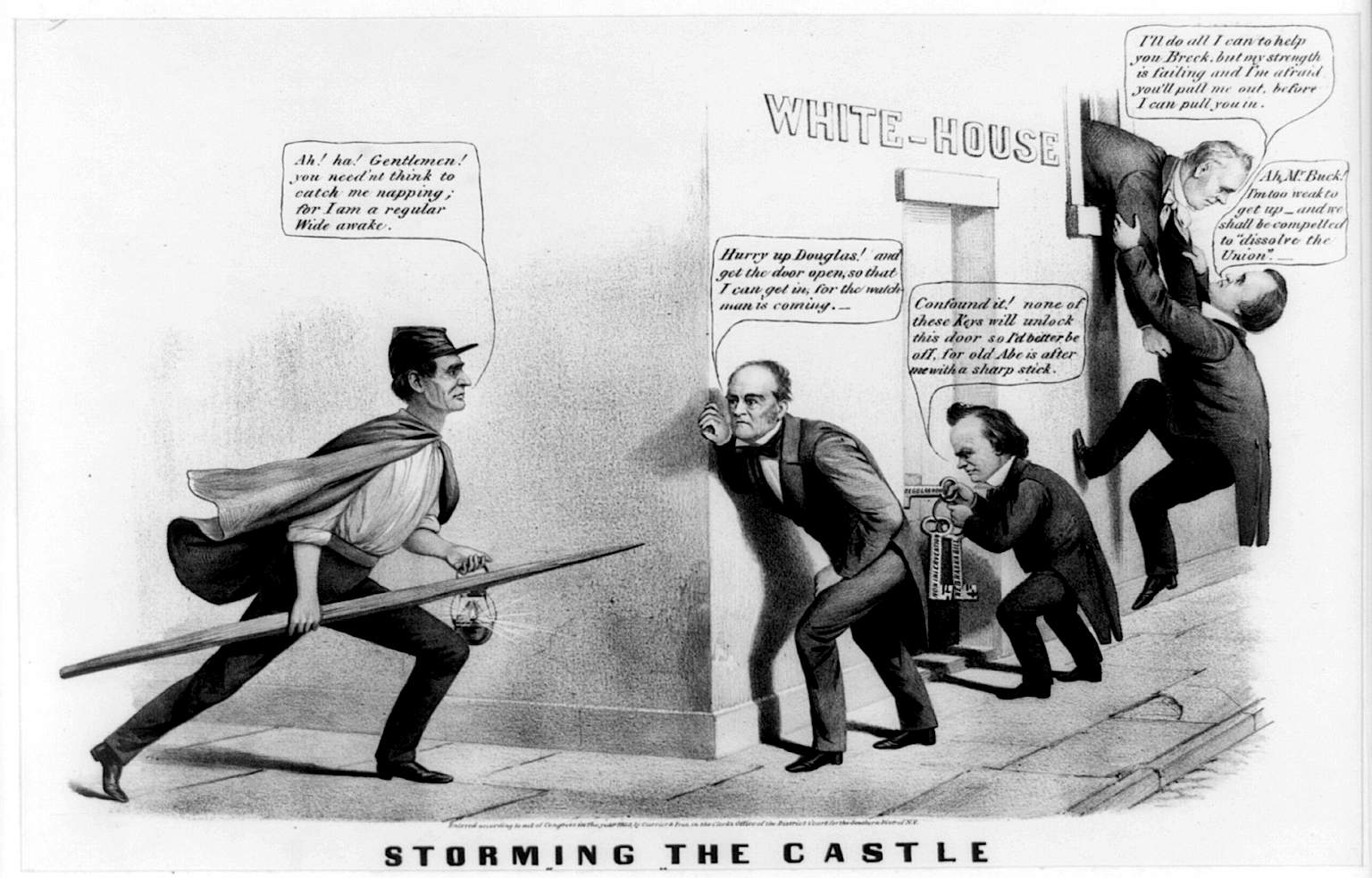 File Storming The Castle 1860 Election Jpg Wikimedia Commons