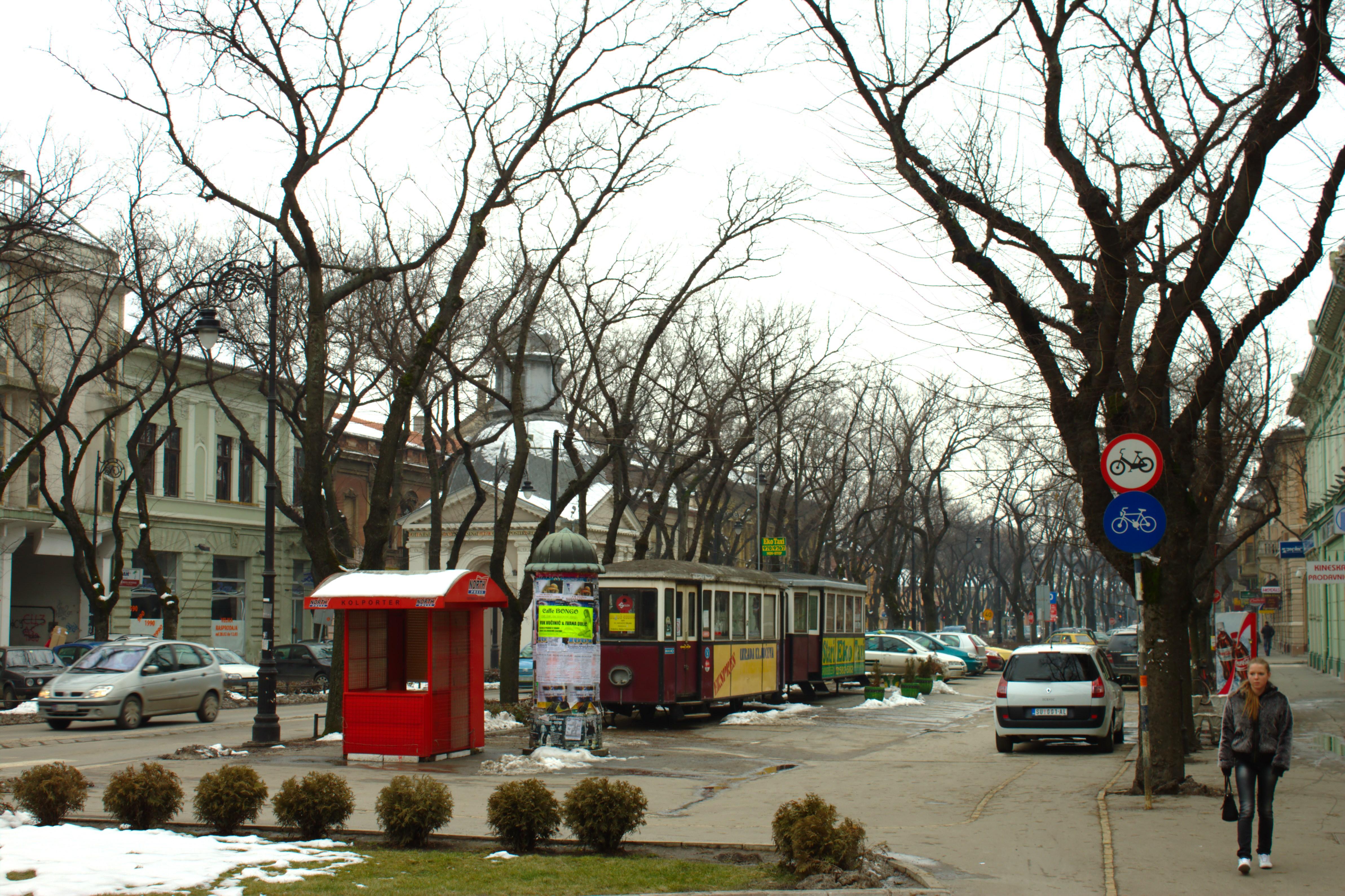 Subotica în Budapesta cu trenul