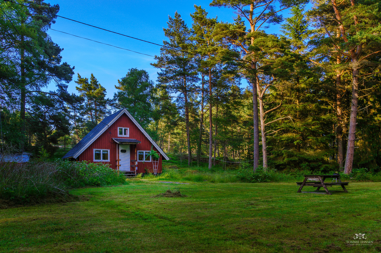 File:Swedish Cabin At Fjärdlång, Stockhom Archipelago (Sweden)    Panoramio