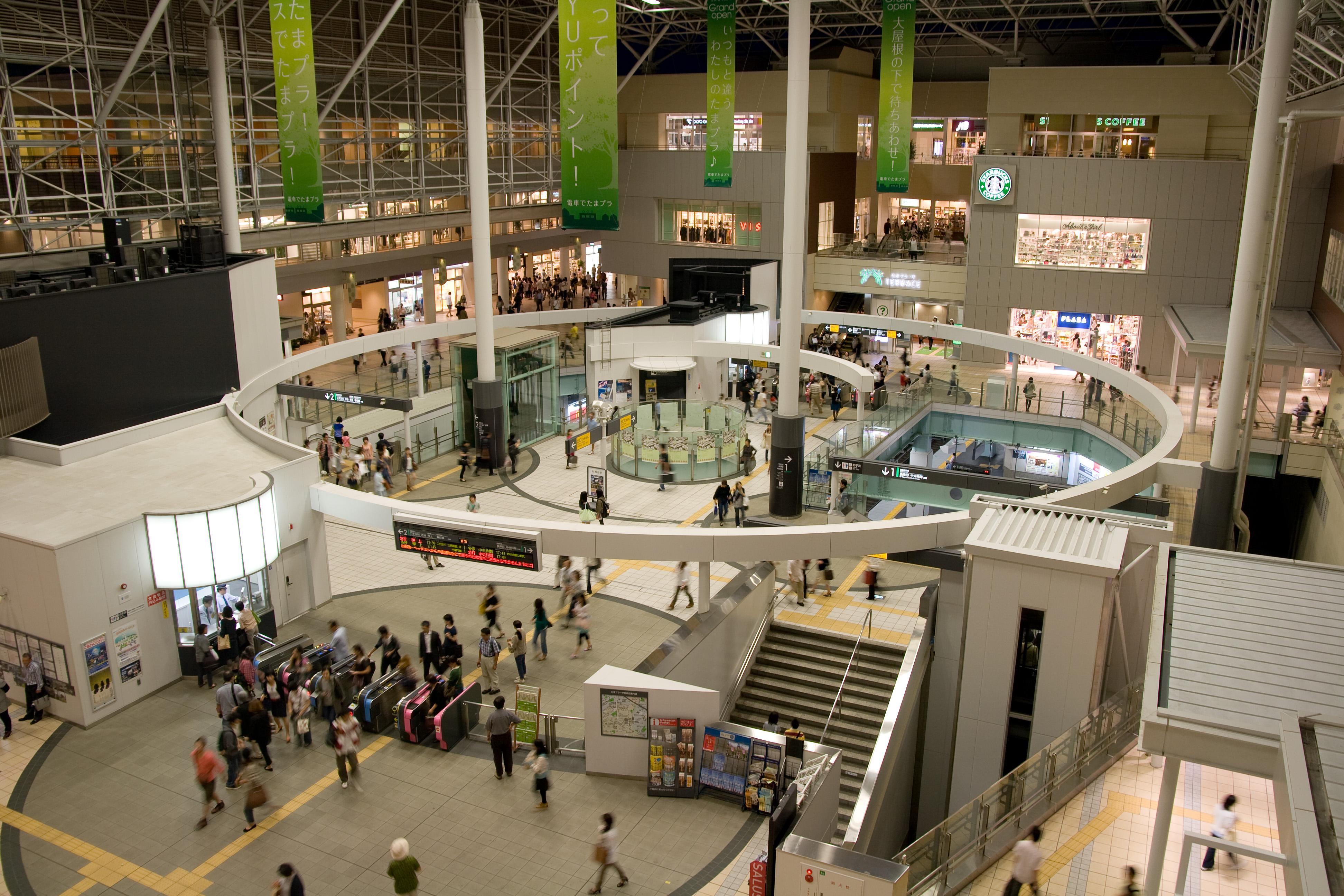 Tama-Plaza Station 01.jpg