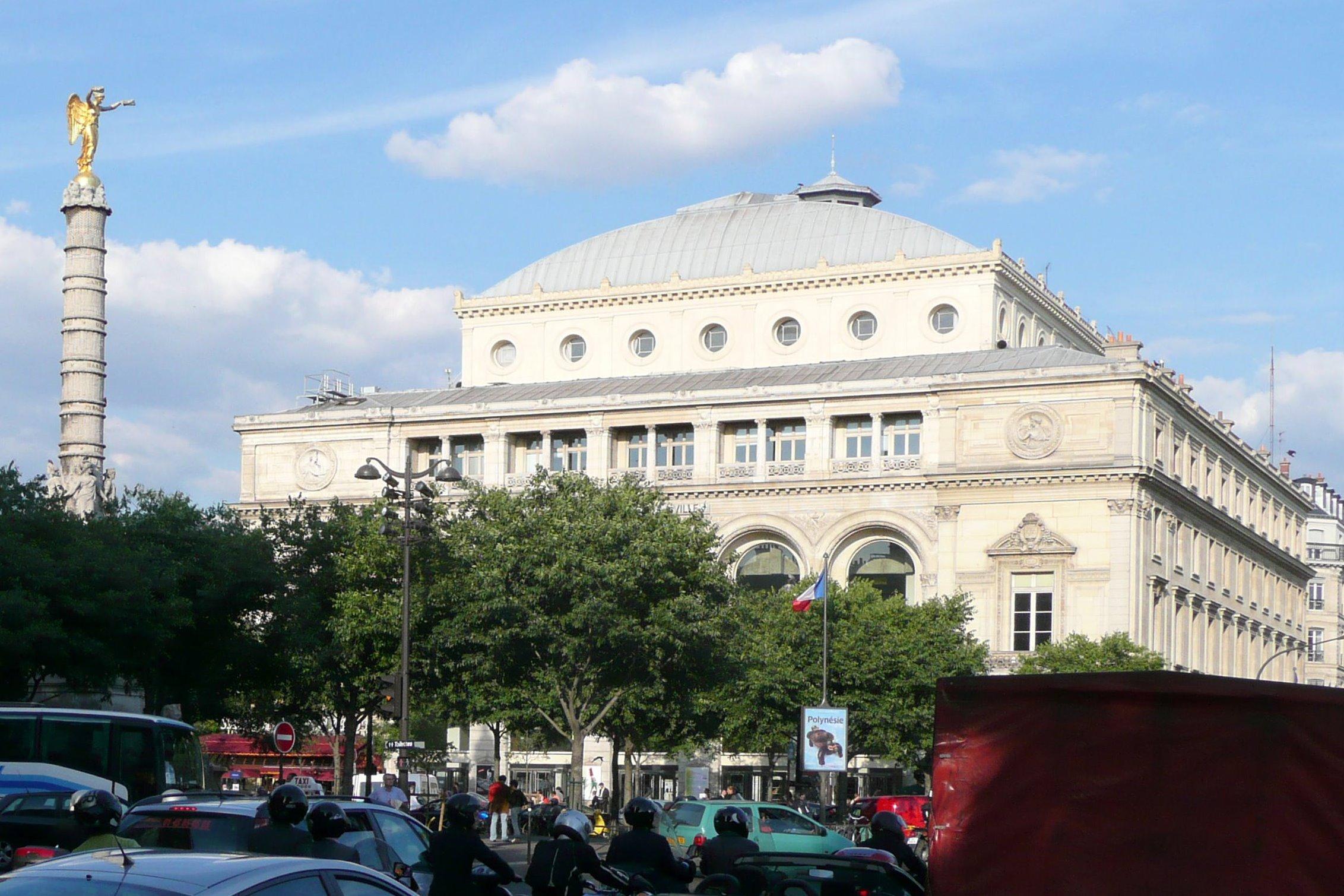 File th atre de la ville de wikimedia commons - Les encombrants de paris ...