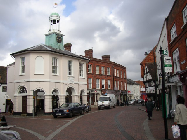 The Market Hall, Godalming - geograph.org.uk - 148806