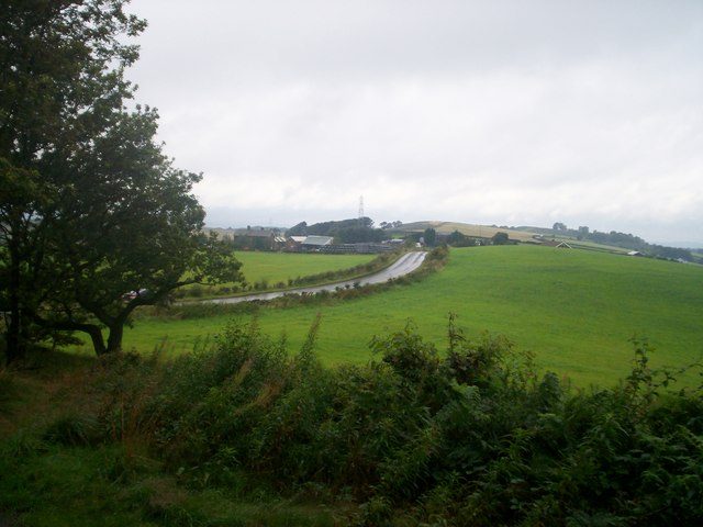 The road to Wortley from the edge of Grenoside Wood - geograph.org.uk - 957026