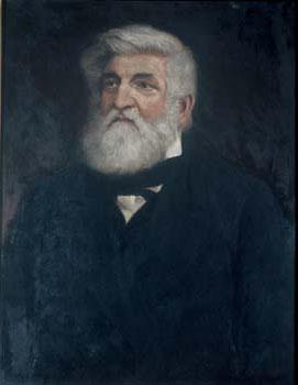 Portrait of Theodor von Bischoff (ca. 1870)