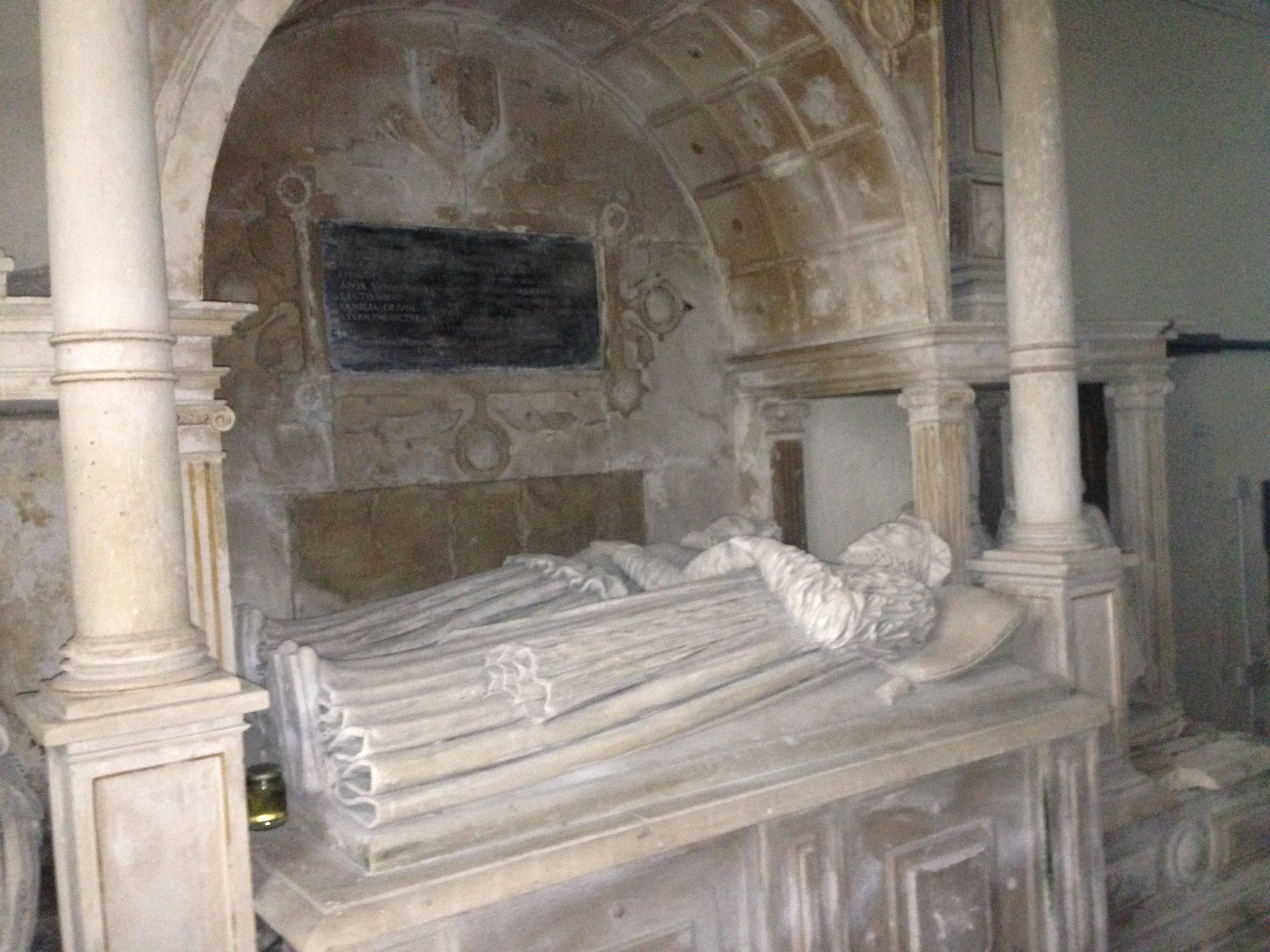File:Tomb Of Bishop Anthony Rudd, St Cathenu0027s Church, Llangathen,  Carmarthenshire,