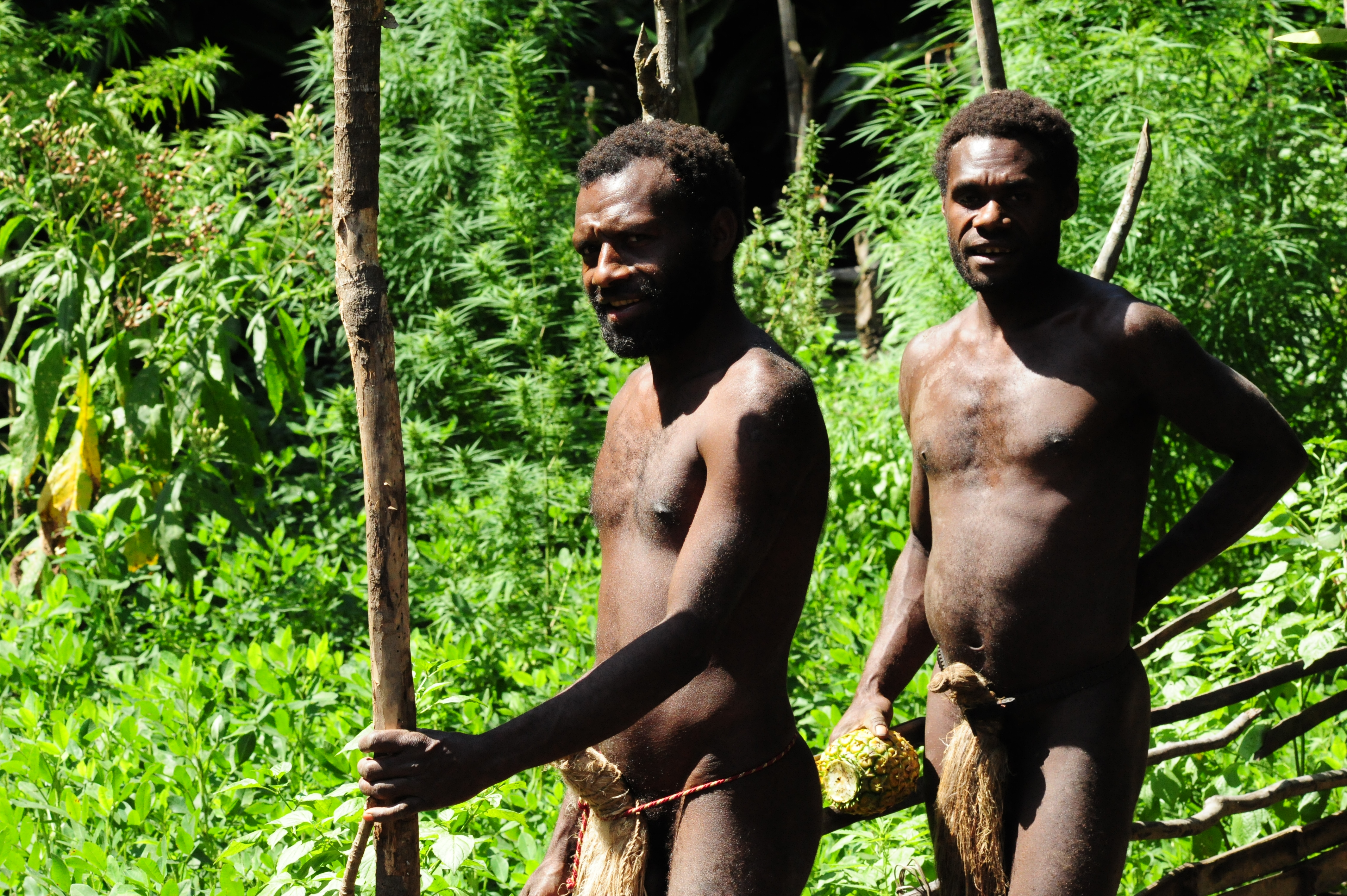 Nude tribesmen porn video