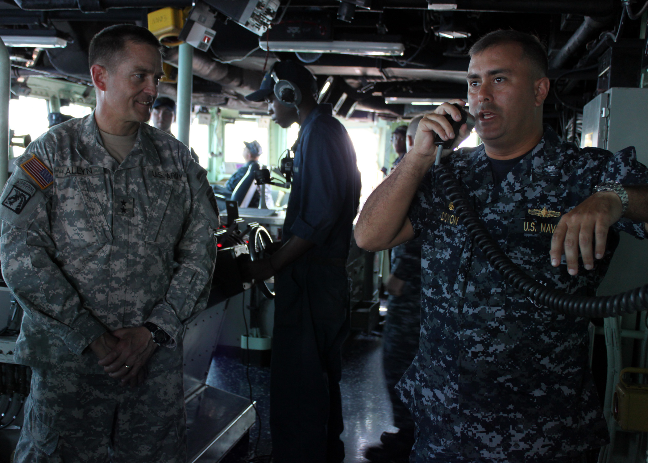 File:US Navy 100224-N-0808P-004 Cmdr  George Doyon, commanding