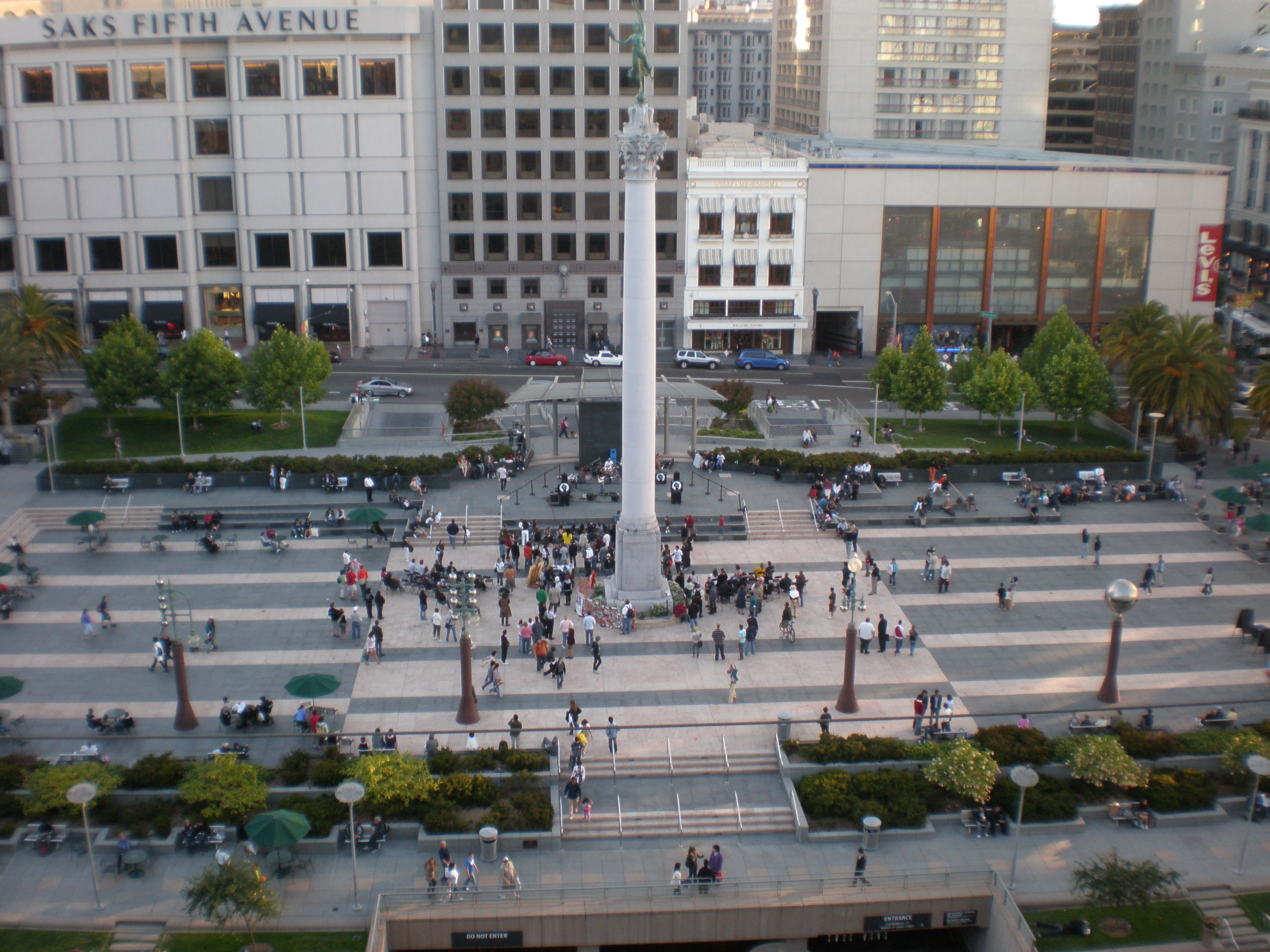 File Union Square Sf From Macy S 1 Jpg Wikipedia