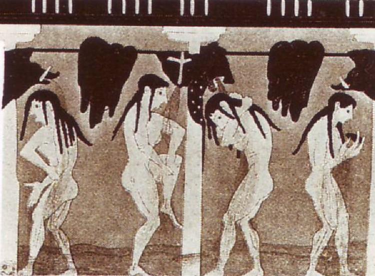 Baños Antiguos Grecia:Vasija Griega