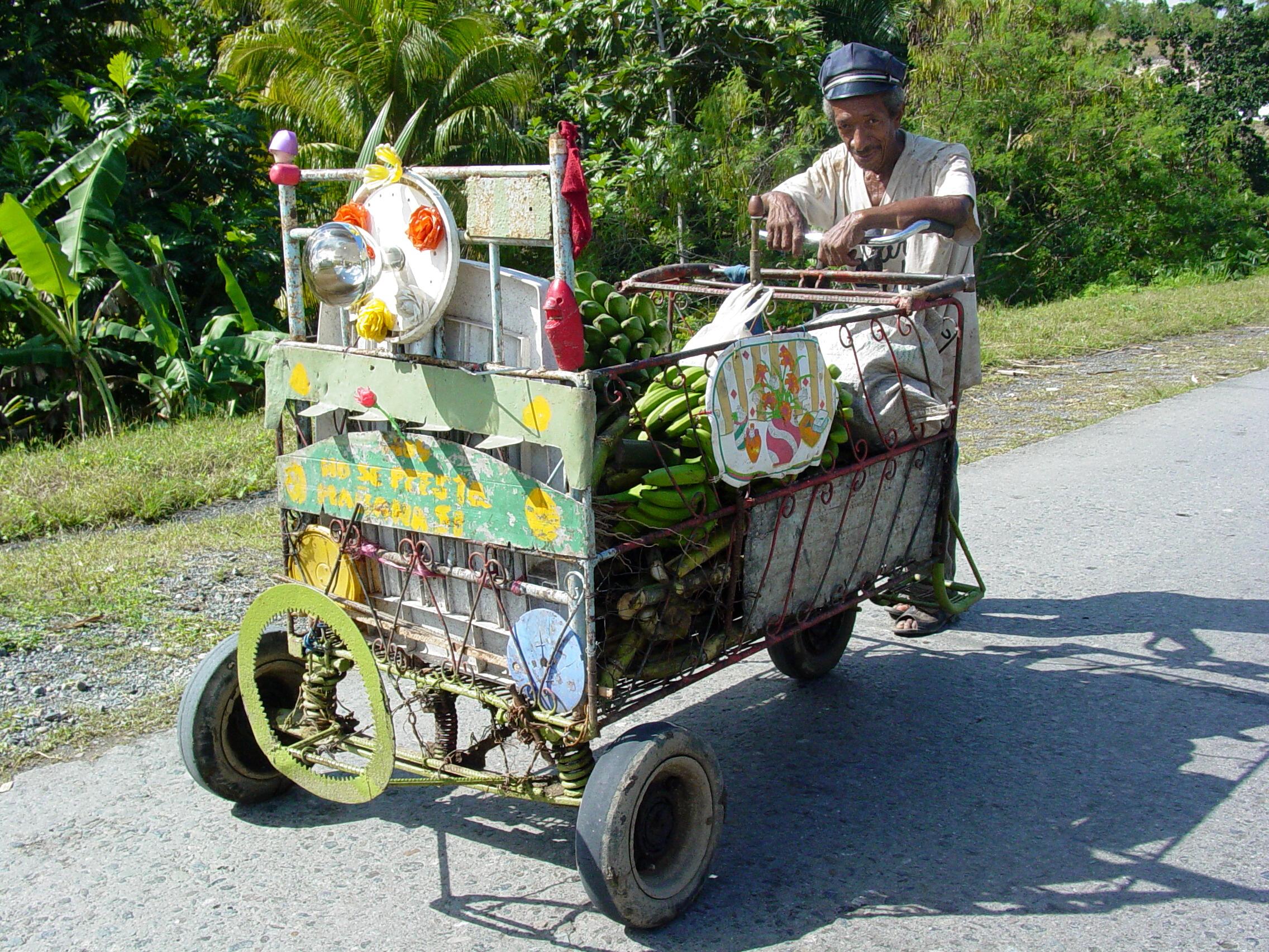 file vendor with cart near baracoa cuba jpg wikimedia commons