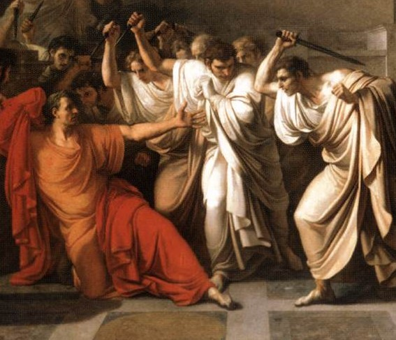 julius caesar responsible for his death On that fateful and bloody day, did julius caesar know that death was near did he know of the conspirators' plan to assassinate him his soothsayer had said beware.