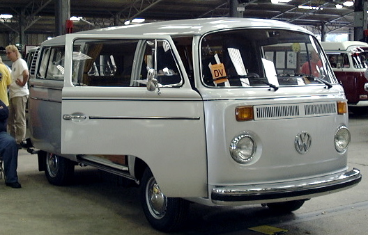 1979 VW Type 2 silverfish limited edition model