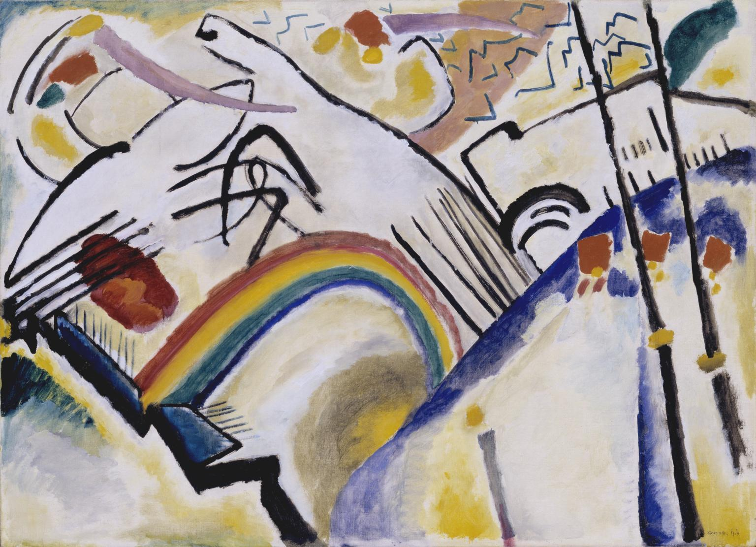 Wassily Kandinsky Cossacks or Cosaques 1910–1.jpg