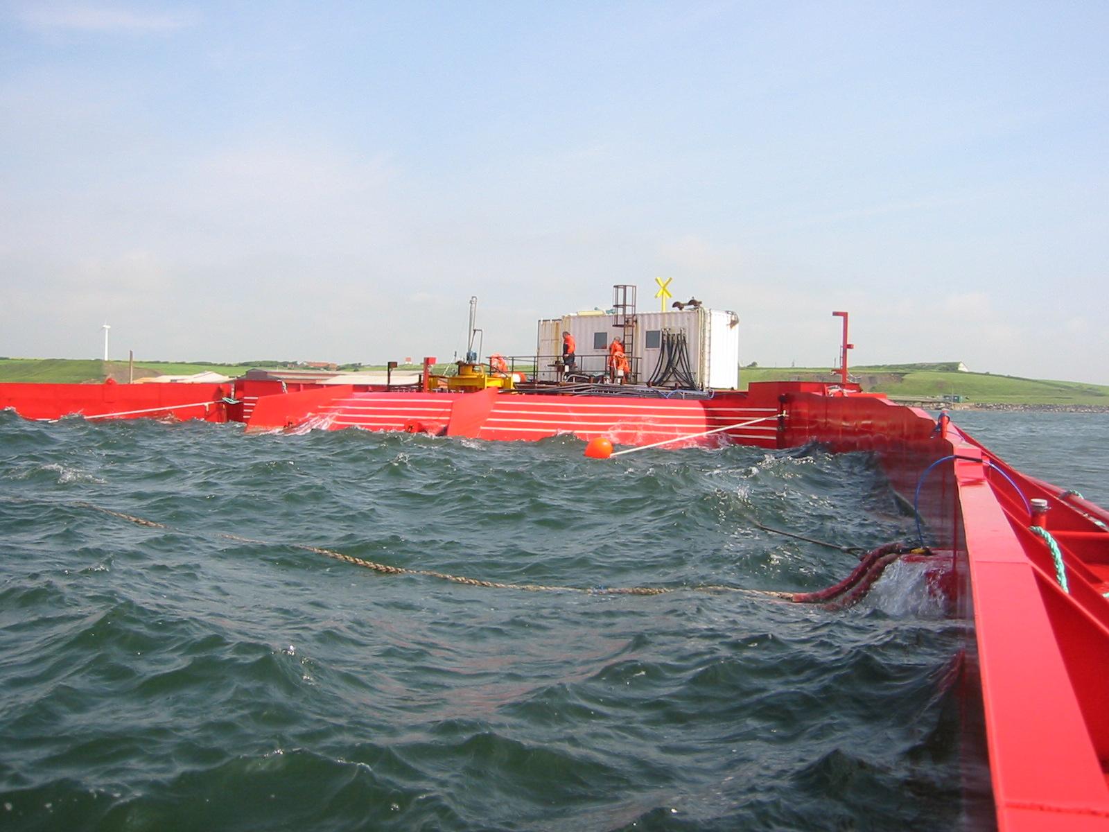 "Ocean energy generator ""Wave Dragon"""