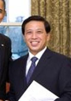 English: President Barack Obama welcomes Ambas...