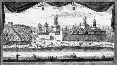 Андреевский Преображенский Московский монастырь в Пленницах