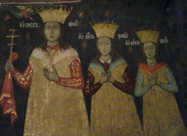 File:056 - Petru cel Tanar si fratii sai Radu si Mircea.jpg
