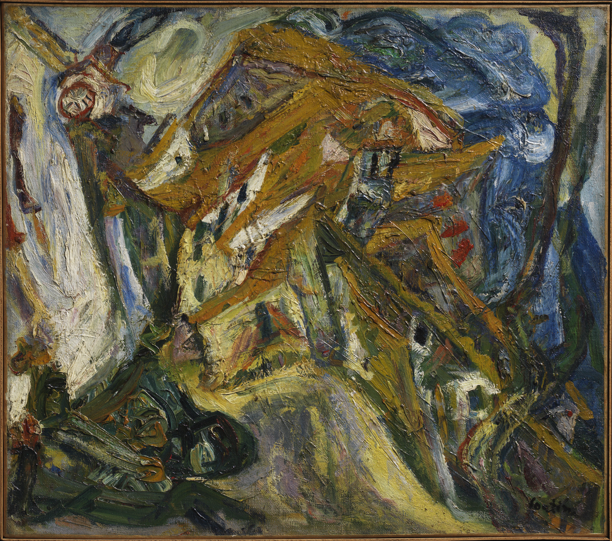 File 1921 Soutine View Of C 233 Ret Jpg Wikimedia Commons