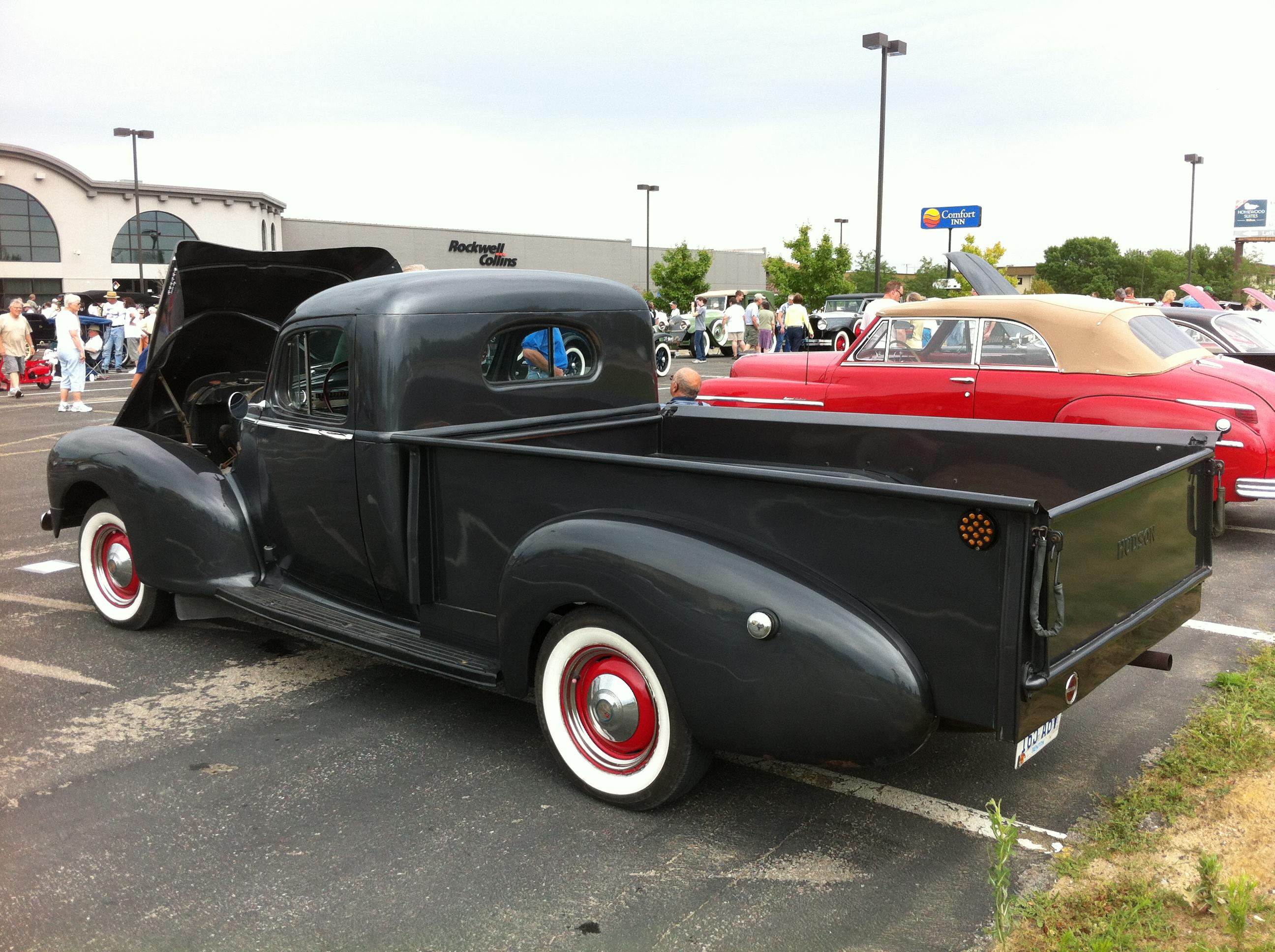 File 1947 Hudson Pickup Aaca Iowa Sidel Open Jpg