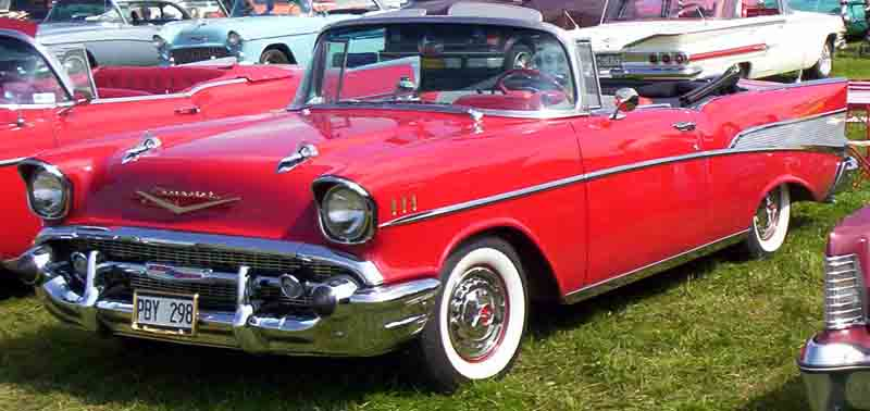 1957 Chevrolet Bel Air Convertible PBY298