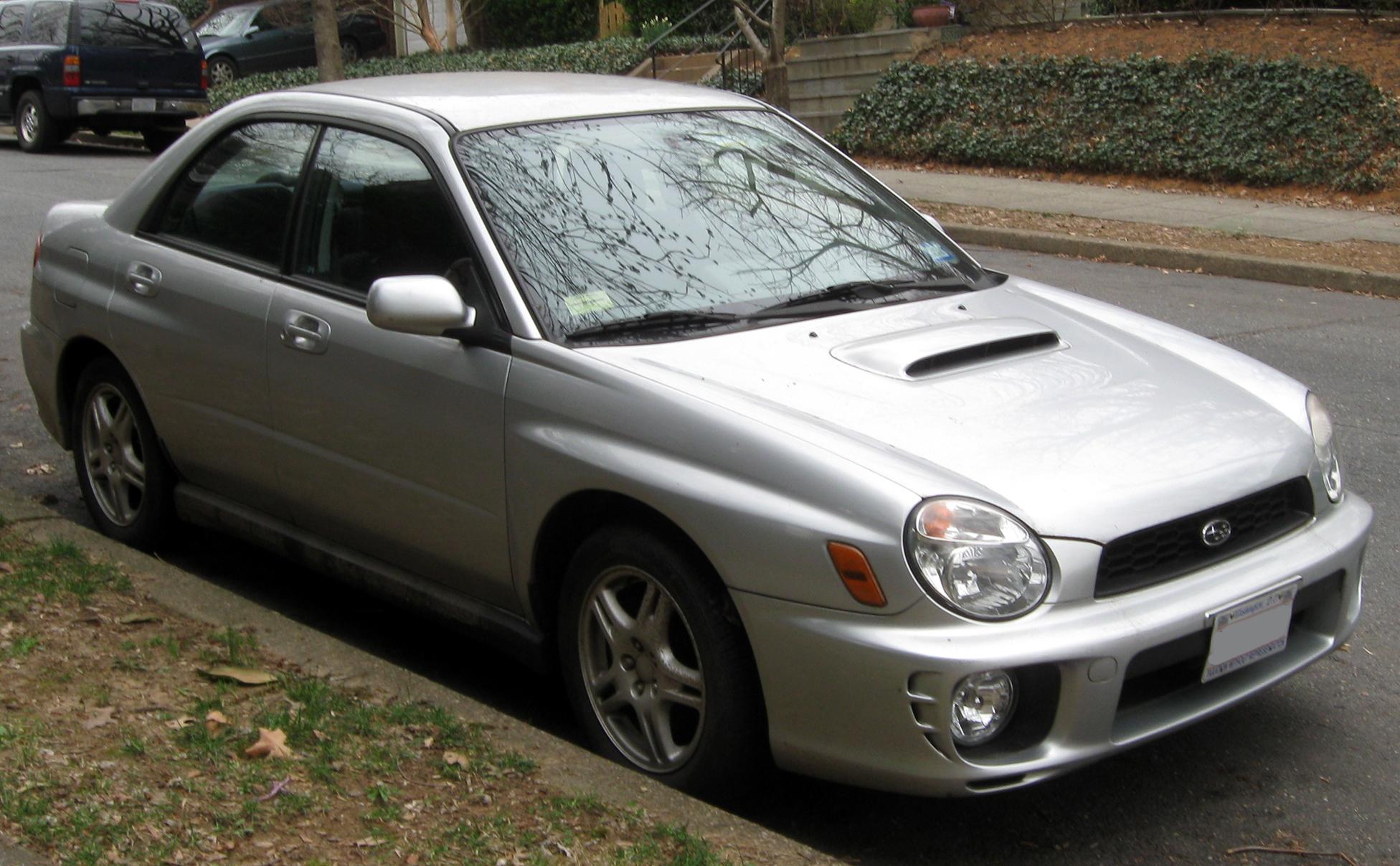 2003 Subaru Impreza 2.5 RS - Sedan AWD Manual