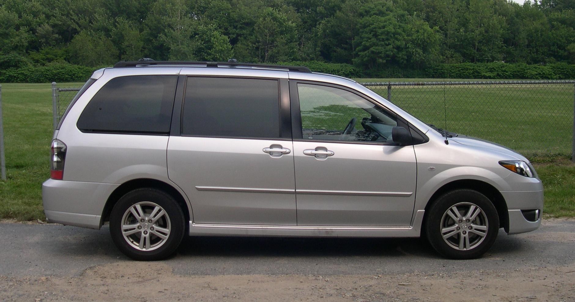 File:2005 Mazda MPV profile.jpg - Wikimedia Commons