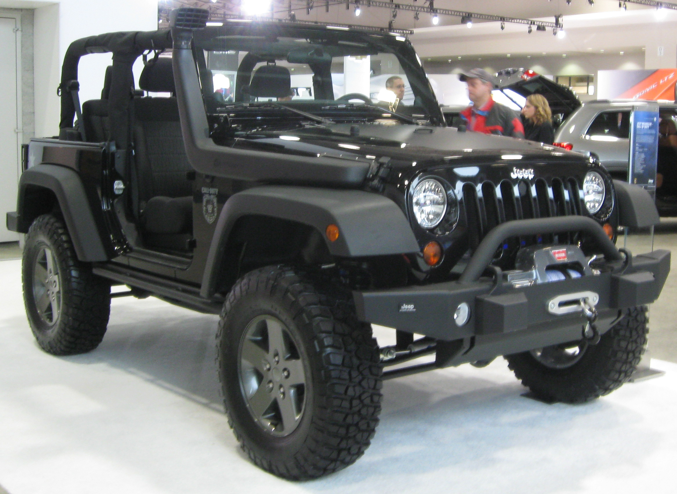 File:2011 Jeep Wrangler Black Ops -- 2011 DC.jpg - Wikimedia Commons