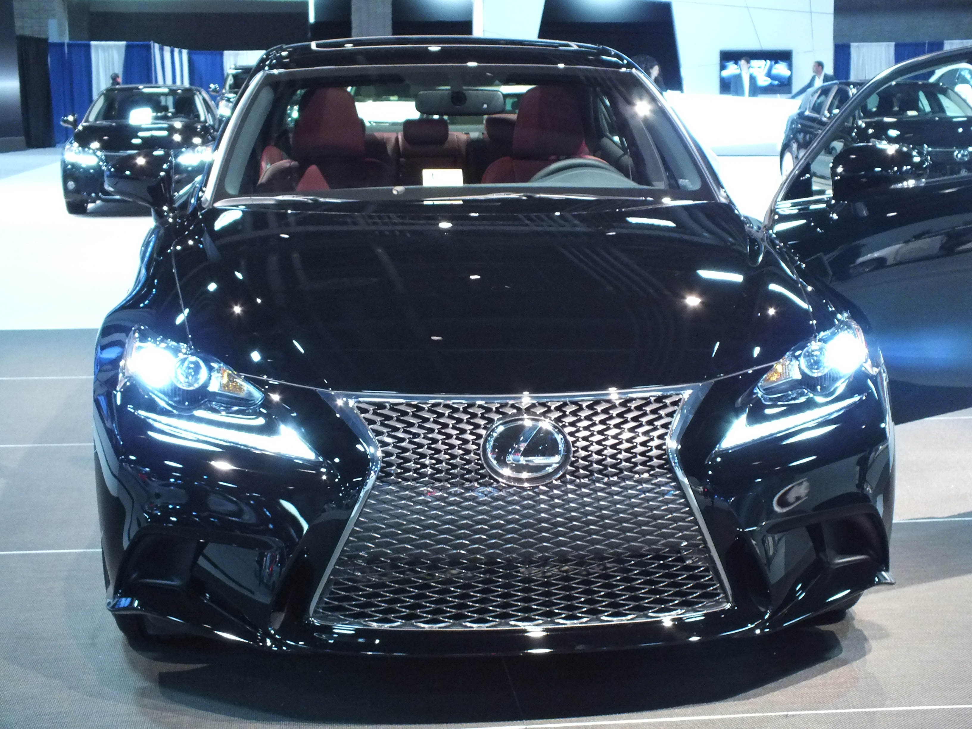 Awesome File:2014 Lexus IS F Sport With LED Lights
