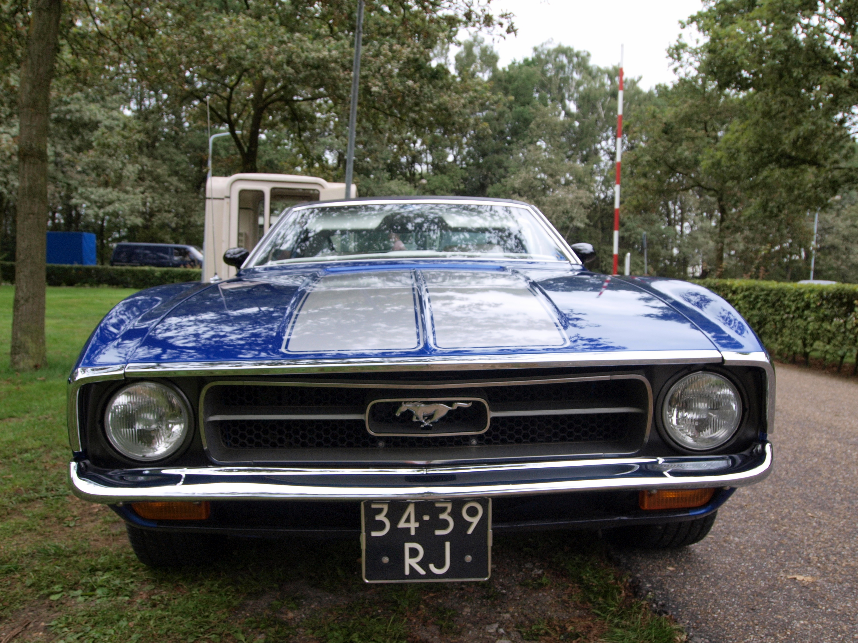 File 34 39 rj ford mustang 1970 at the autotron oldtimer meeting