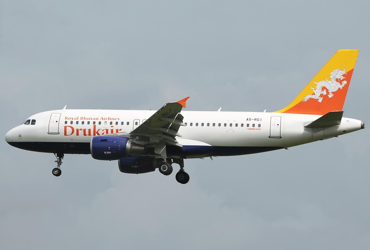 Dateiairbus A319 112 Druk Air Royal Bhutan Airlines Jp7534594