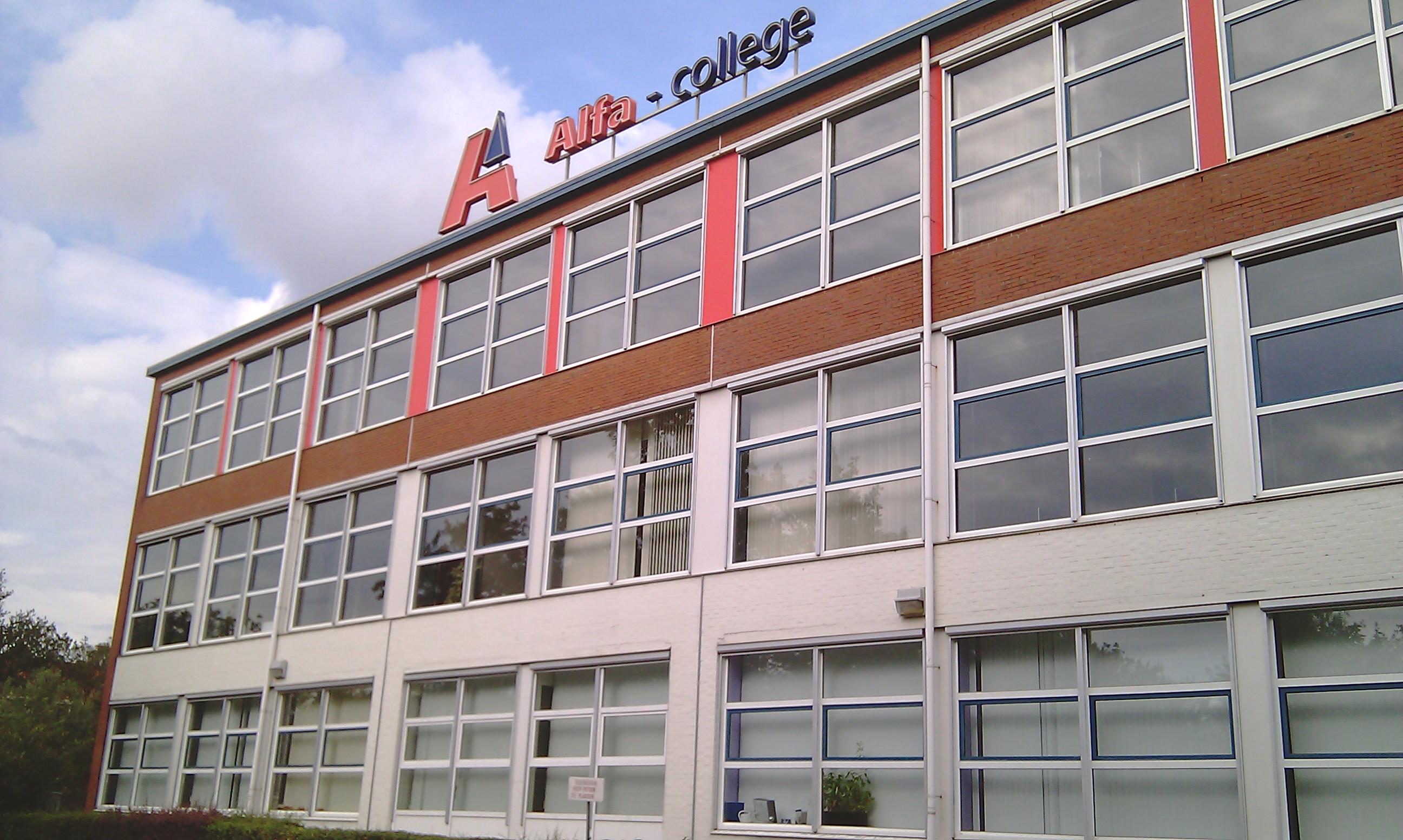 alfa college actie