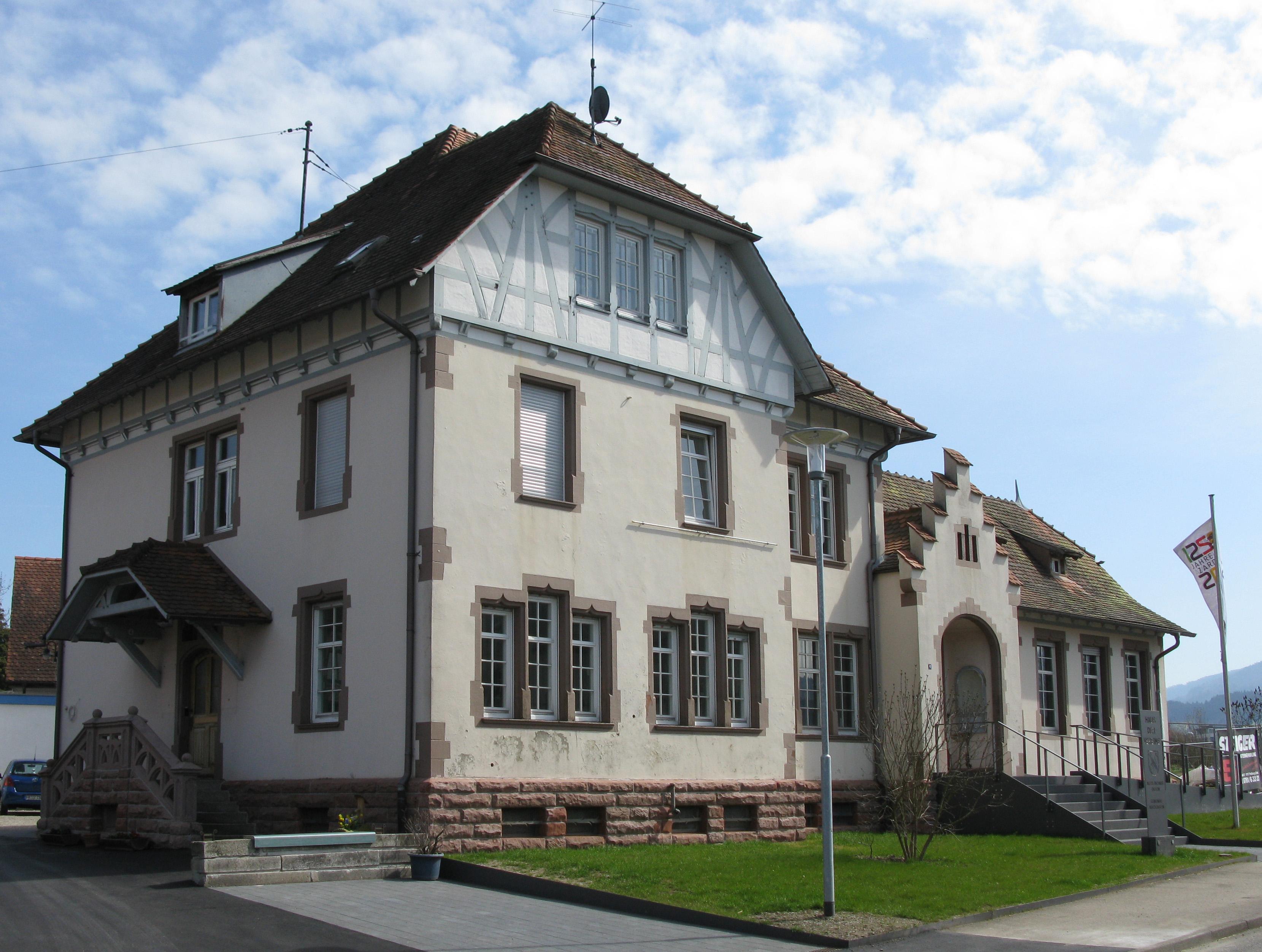 file altes rathaus heute haus der vereine in kirchzarten wikimedia commons. Black Bedroom Furniture Sets. Home Design Ideas