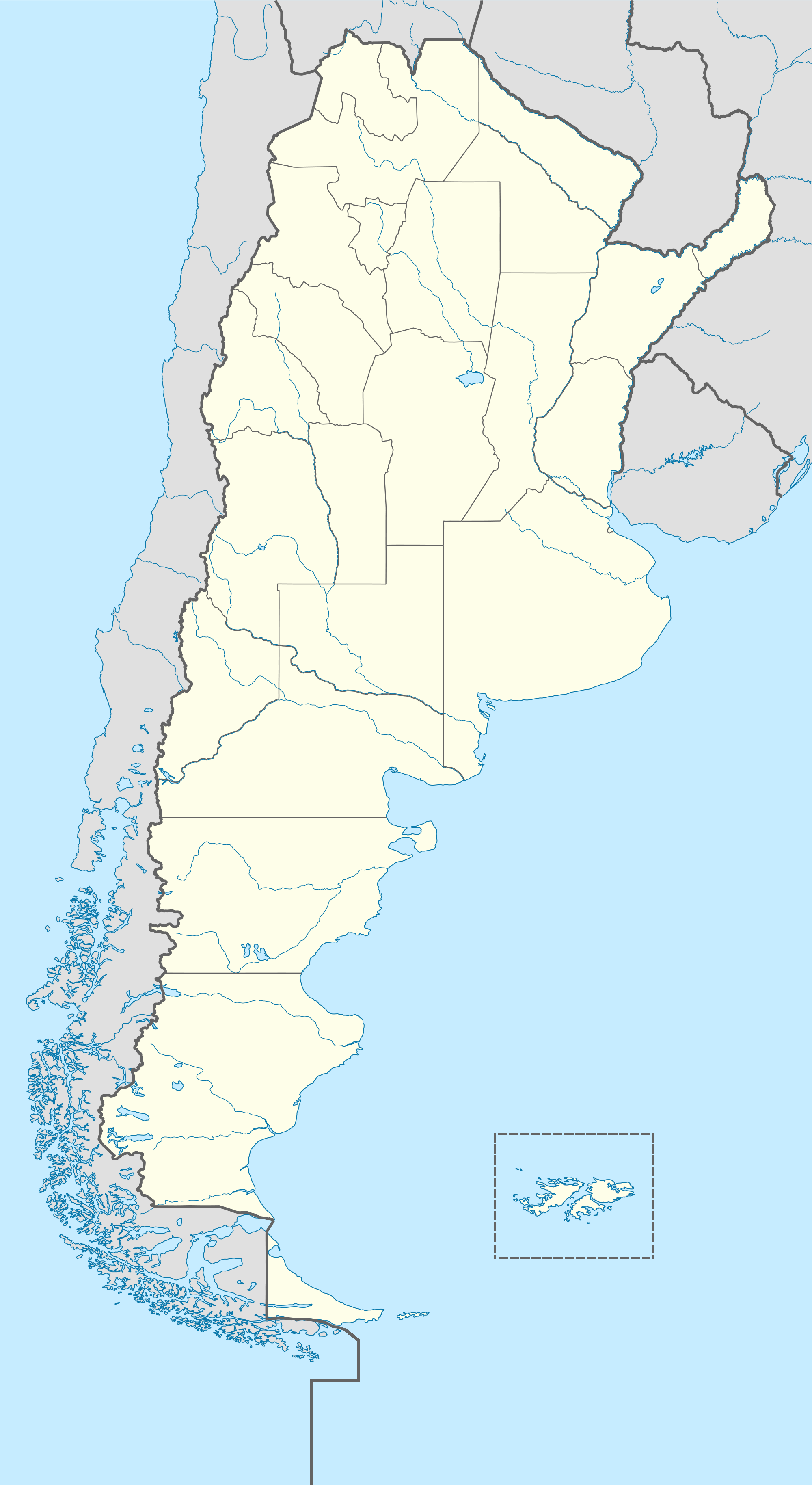 FileArgentina And Falkland Islands Location Mappng Wikimedia - Argentina map png