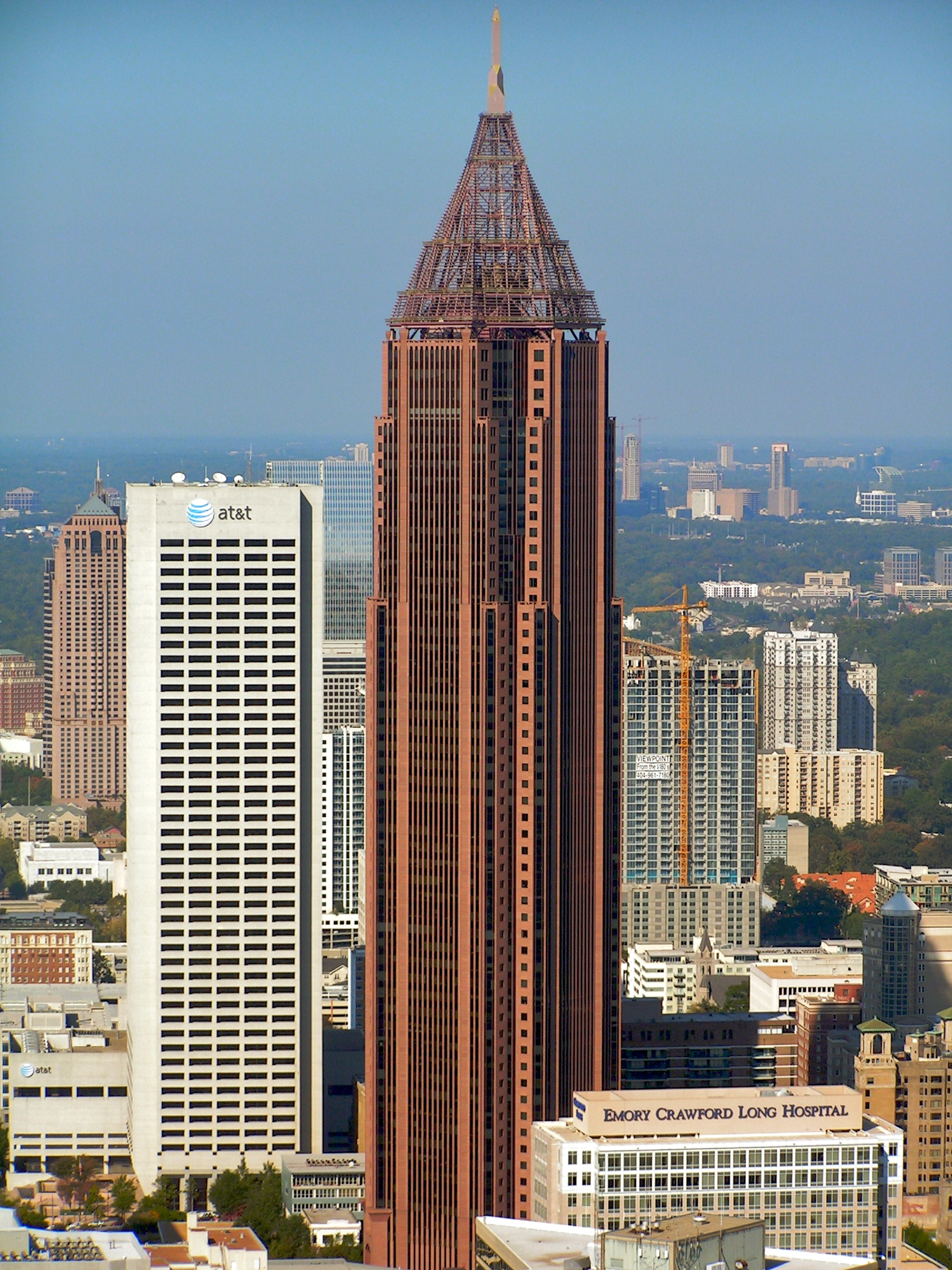 Opinions on list of tallest buildings in atlanta for Cost to build a house in georgia