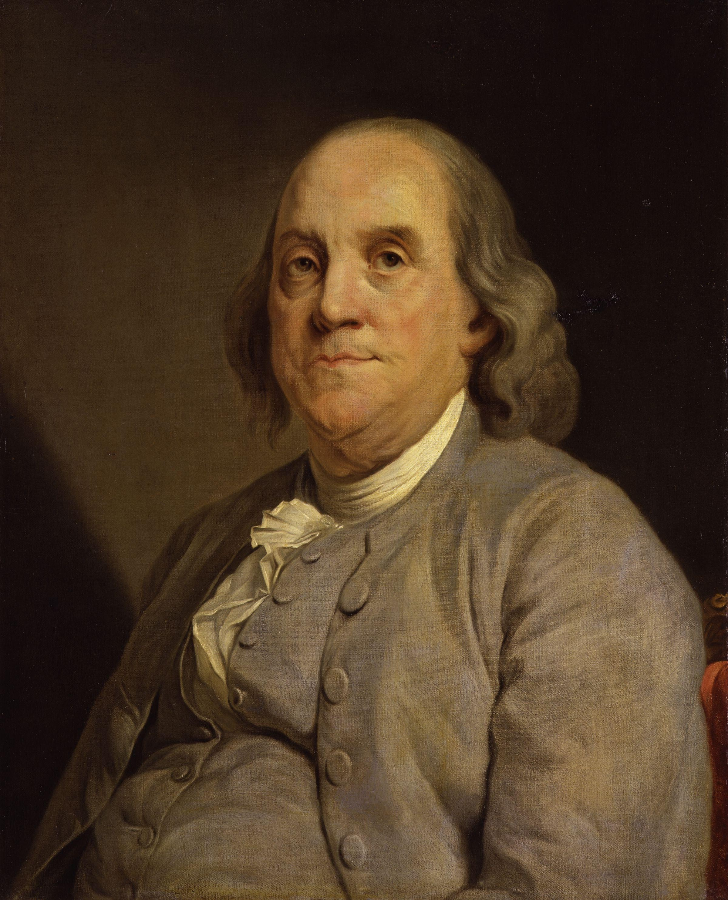 ben franklin taught himself to write a few clever tricks image by joseph siffred duplessis tags ben franklin