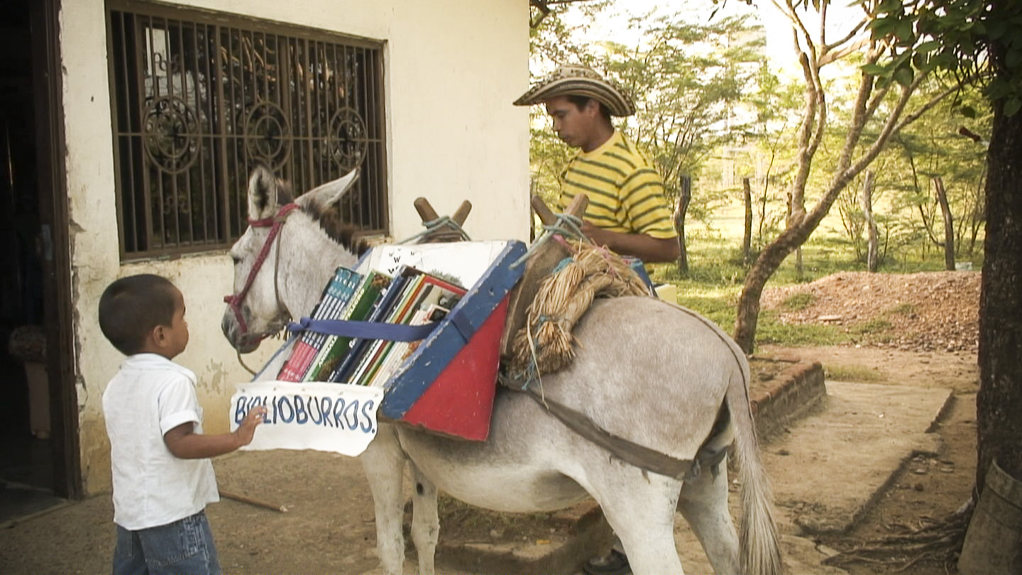 Biblioburro, traveling library in Colombia