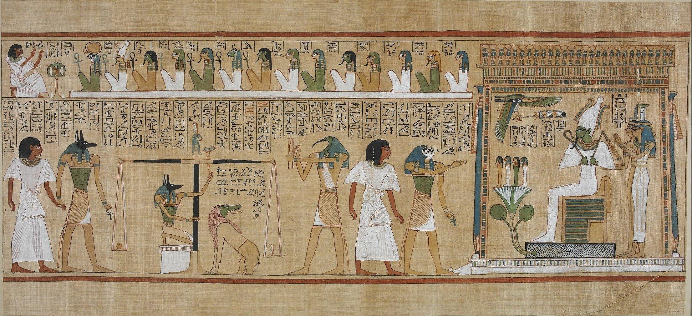 book of the dead hunefer