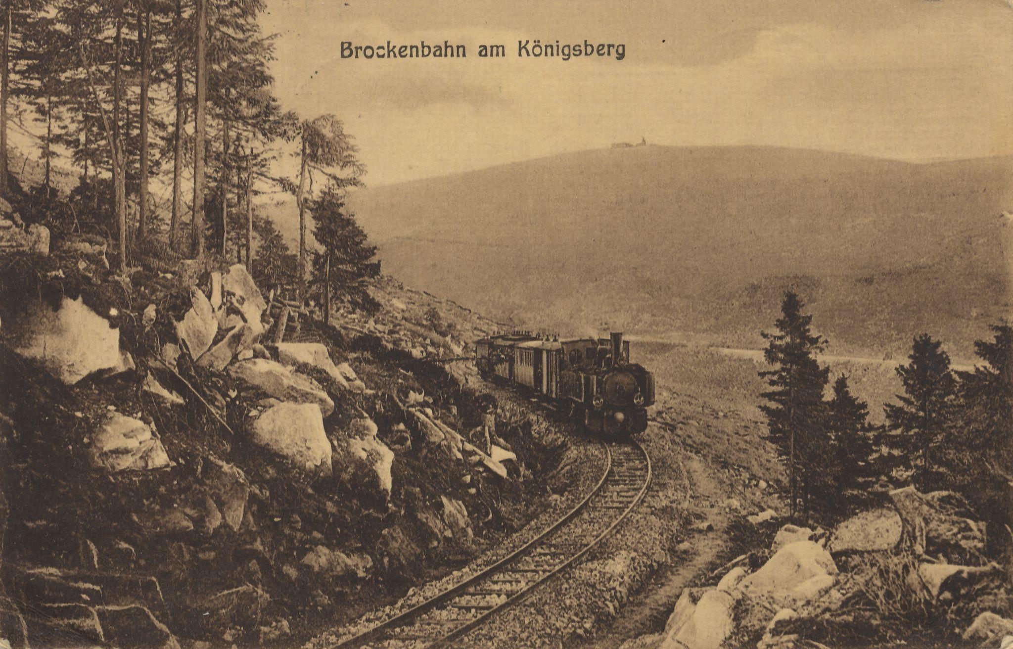 Brockenbahn en el Königsberg