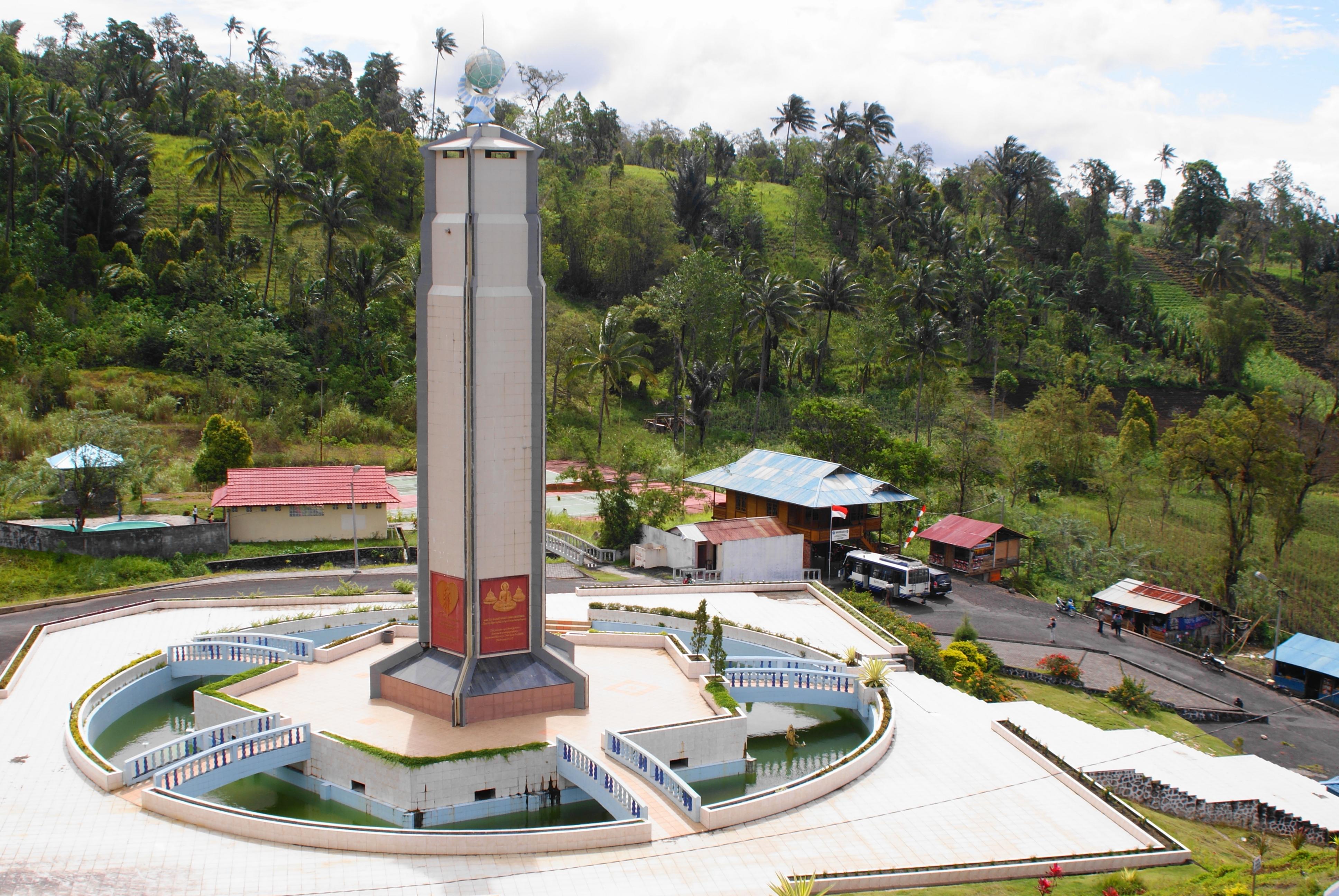 Image result for bukit kasih kanonang - Pemandangan Indah Di Sulawesi Utara