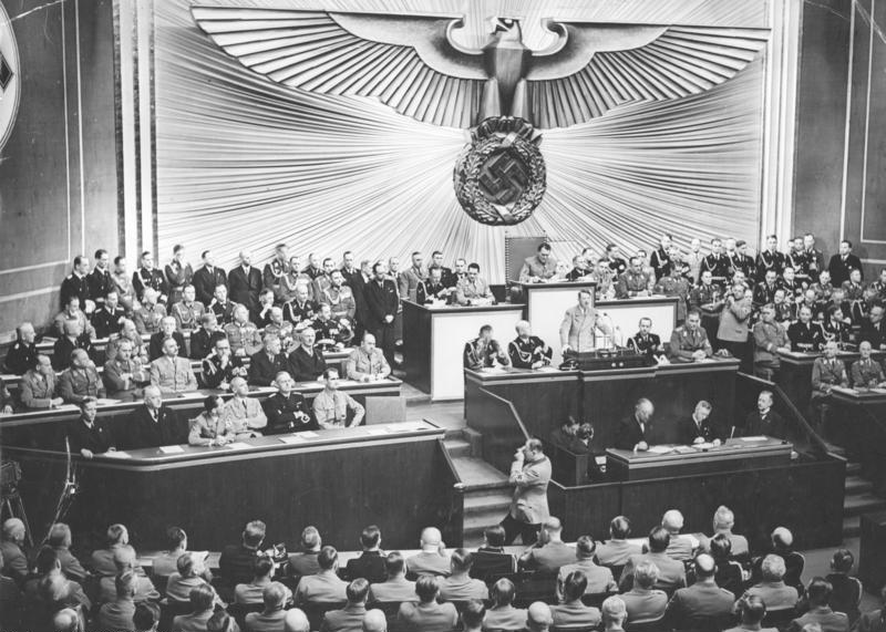Hitler appointed Chancellor Jan. 30, 1933